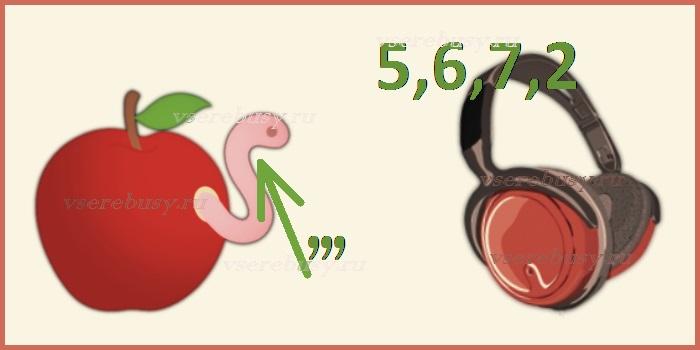 ребус черника, ребусы, ребус, ребусы с ответами, ребусы про ягоды, ребус ягода